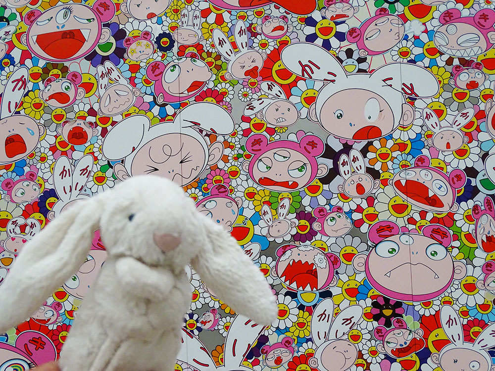 Takashi Murakami at The Broad.