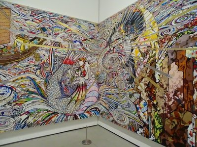 Takashi Murakami  at The Broad, LA.