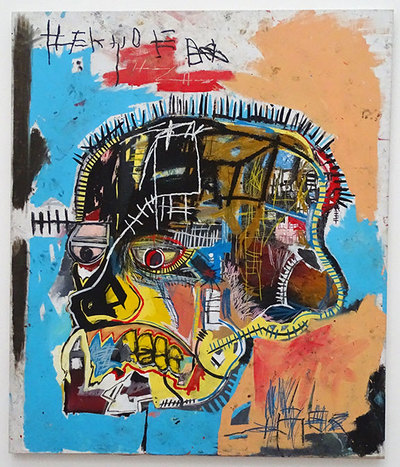 Untitled by Jean-Michel Basquiat.