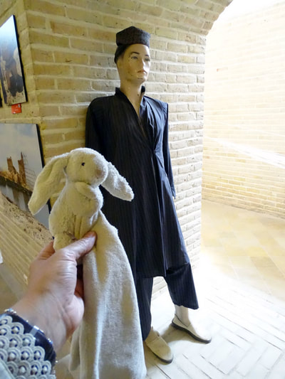 Traditional Zoroastrian male costume at Markar Museum