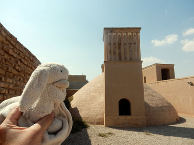 Ab abnar, traditional Persian water storage in Yazd