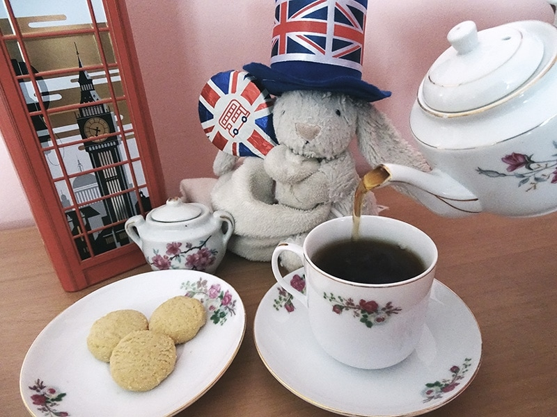 British Rabbit's Tea Party.