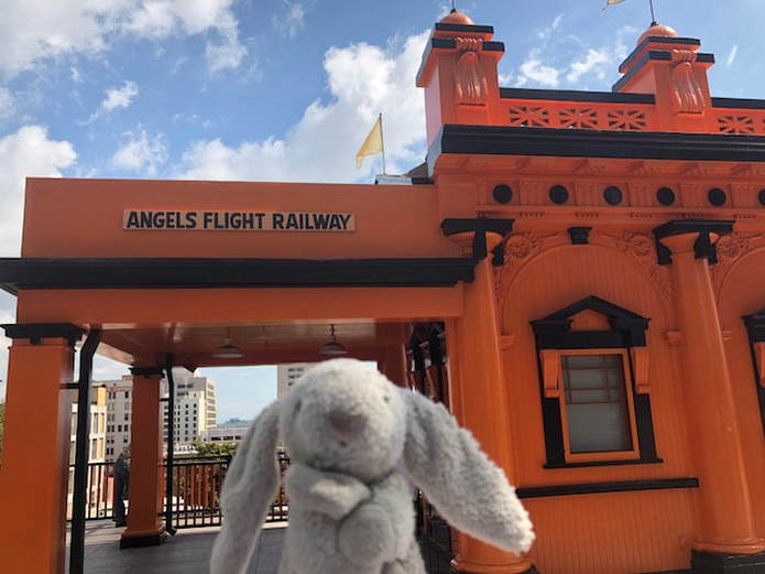 Angels Flight Railway in Los Angeles
