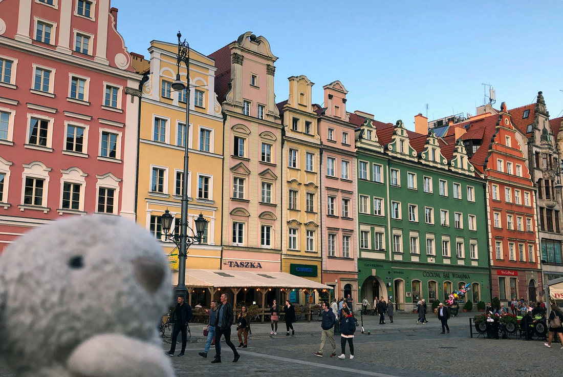 Beautiful Wroclaw City in Poland